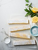 Lemon coconut bar