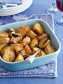 Roast potatoes with sage