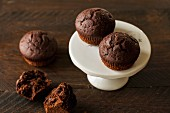 Extremely chocolatey muffins