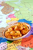 Cheese and pepper dumplings from Hungary