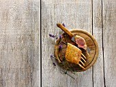Rack of lamb with lavender