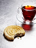 Tea and a sweet biscuit from the Middle East