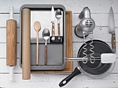 Kitchen utensils for making savoury cake