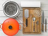Kitchen utensils for making ragout