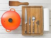 Kitchen utensils for making stew
