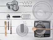 Kitchen utensils for making honey cake