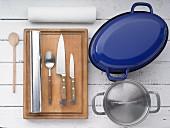 Kitchen utensils for making meat