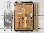 Kitchen utensils for making crisps