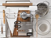 Kitchen utensils for making eclairs