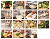 How to prepar savoury buns with sausage