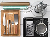 Kitchen utensils for preparing minced meat