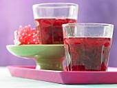 Rhubarb jelly
