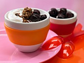 Chocolate & cherry quark