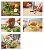 How to prepare orange marinade