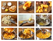 How to prepare sweet and sour pumpkin compote