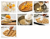 How to prepare apricot & coconut bars with almonds