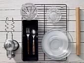 Kitchen utensils for making bread