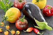 Mediterranen vegetables