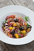 Orange & onion salad