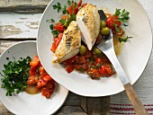 Provencal Chicken and Tomato Roast