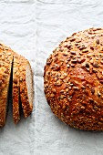 Six-grain bread with seed mix