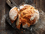 South Tyrolean rustic bread with spices