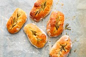 Ciabattini with rosemary