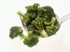 Blanchierter Broccoli
