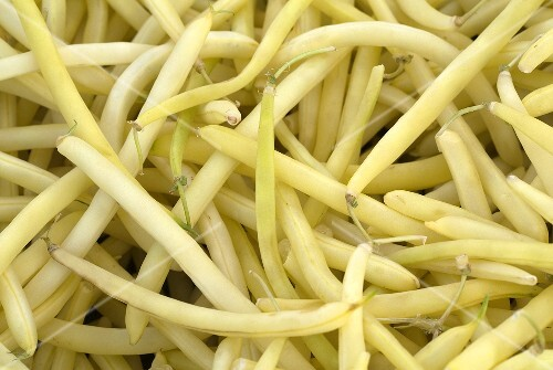 Many Fresh Wax Beans