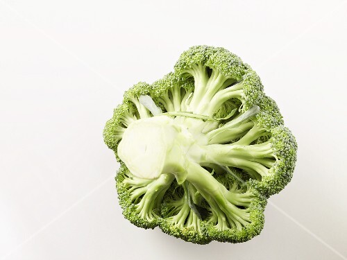 Underside of broccoli