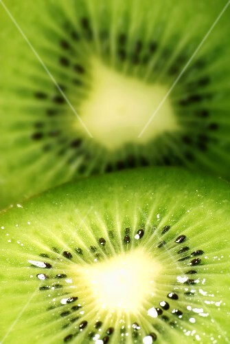 Slice Kiwi (close up)