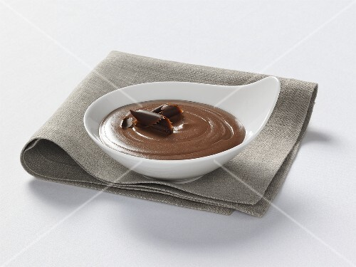 Chocolate blancmange – buy images – StockFood