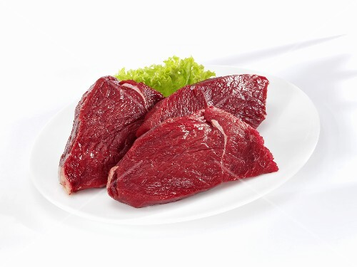 Bison steaks (rump)