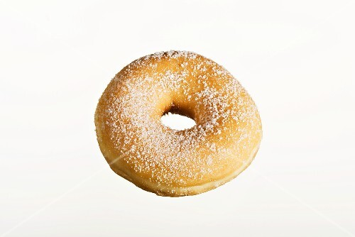 A sugared doughnut