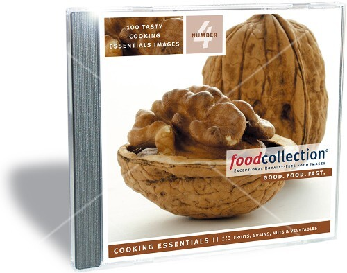CD04 Cooking Essentials II - Fruits, Grains, Nuts & Vegetables  100 images