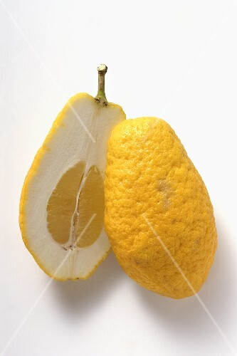 Citron, halved