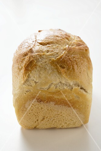 A loaf of white bread