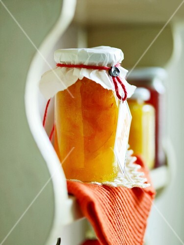 Marmalade with orange liqueur