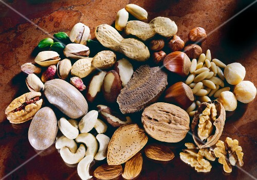 Assorted Nut Still Life