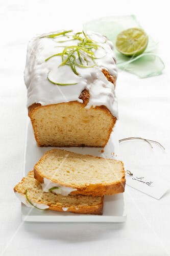 Lime cake with silken tofu