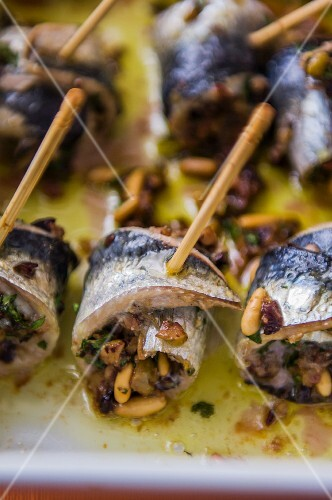 Stuffed sardines