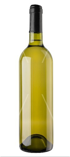 A white wine bottle