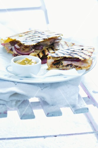 Quesadillas with pork