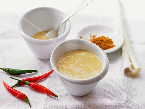 Aioli with chilli, lemongrass and curry