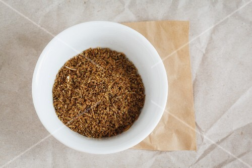 A bowl of cumin