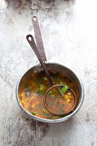 Watercress soup from the Canary Isles
