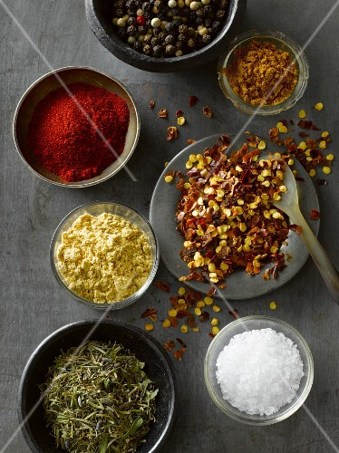 A Variety of Spices; From Above