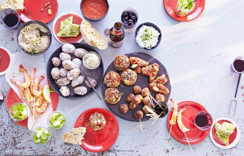 Assorted tapas (Spain)