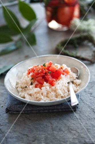 Rice with tomatoes