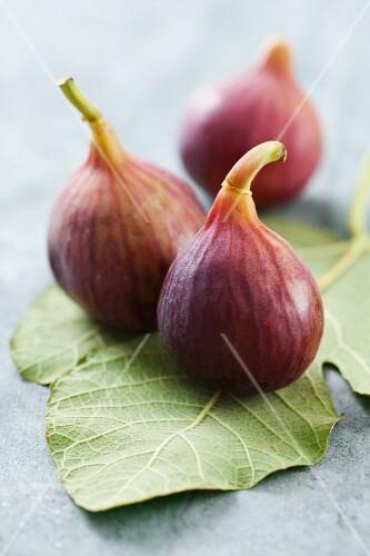 Figs on a fig leaf
